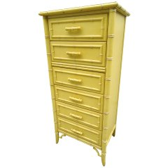 Faux Bamboo Highboy