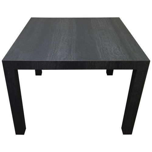 Slate Gray Parsons Table