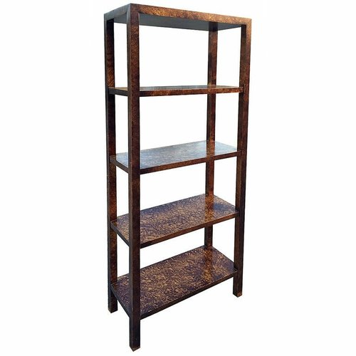 Tortoise Shell Etagere by Lane