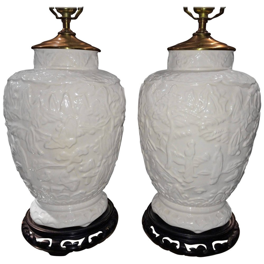 Chinese Ceramic Lamps