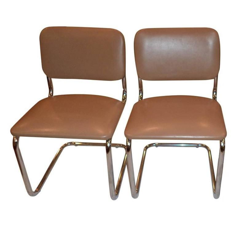 Tubular Cantilever Chairs