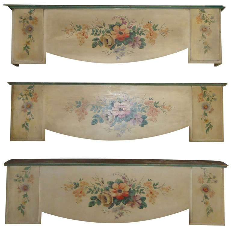 Hand-Painted Valances