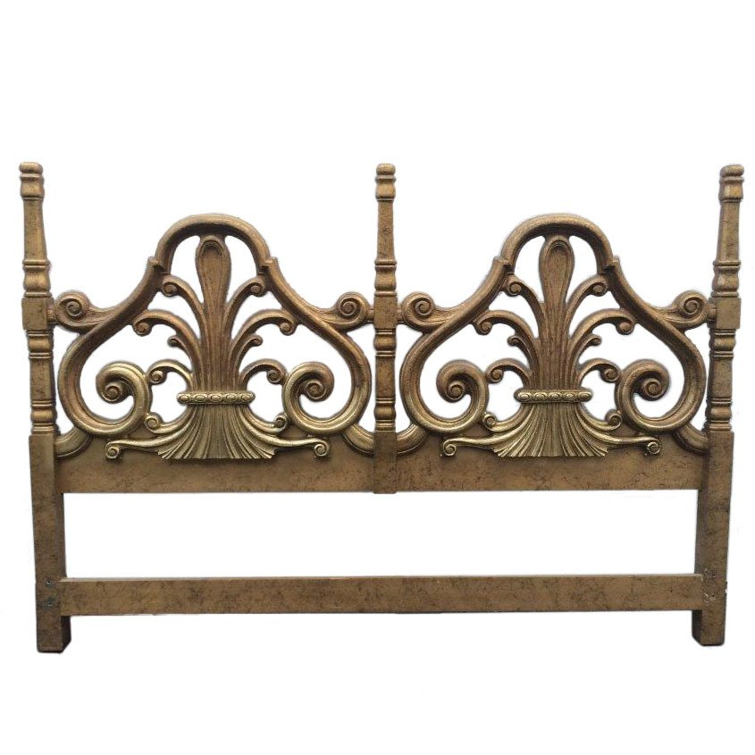 Hollywood Regency Bed