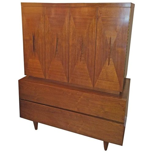 Mid-Century Modern Highboy