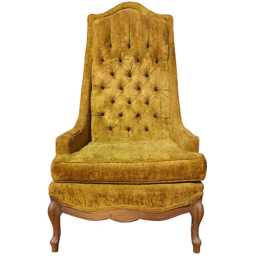 Tufted Throne Armchair