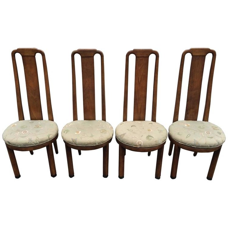 High Back Henredon Chairs