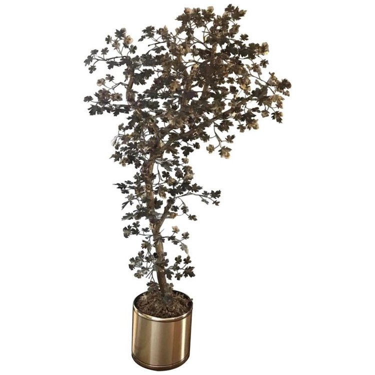 Metallic Brass Tree