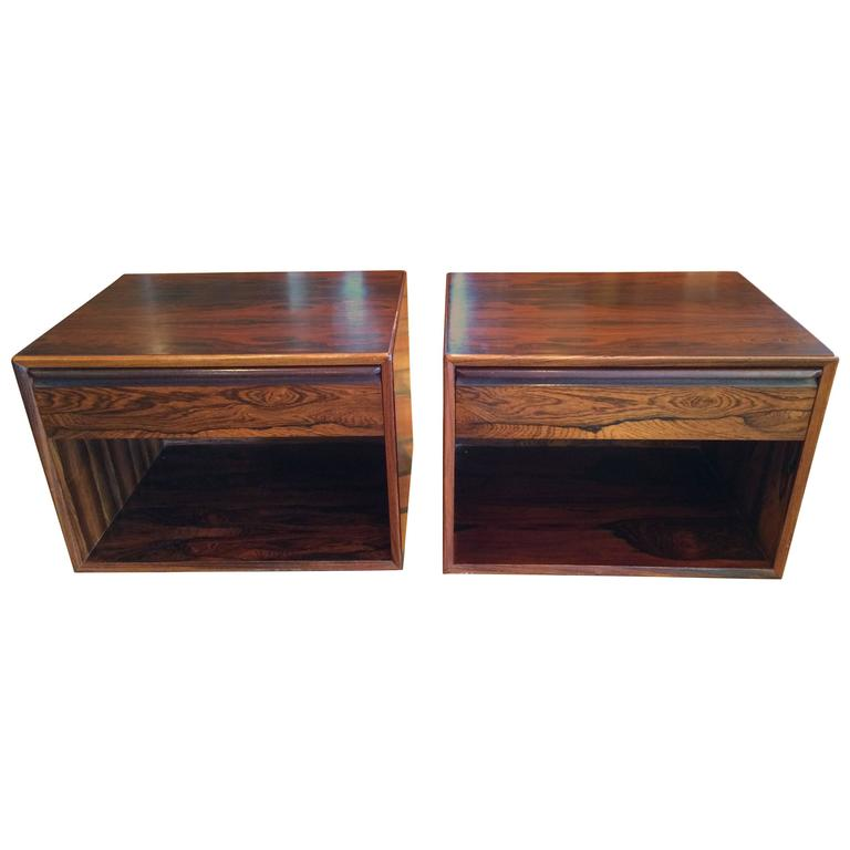 MidCentury Rosewood Tables