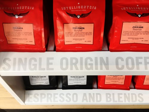 Fresh-Roasted Intelligentsia Coffee Beans