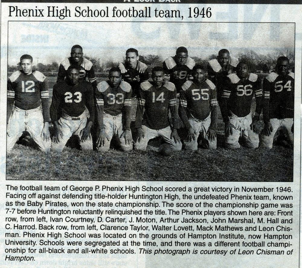 Football Team, 1946