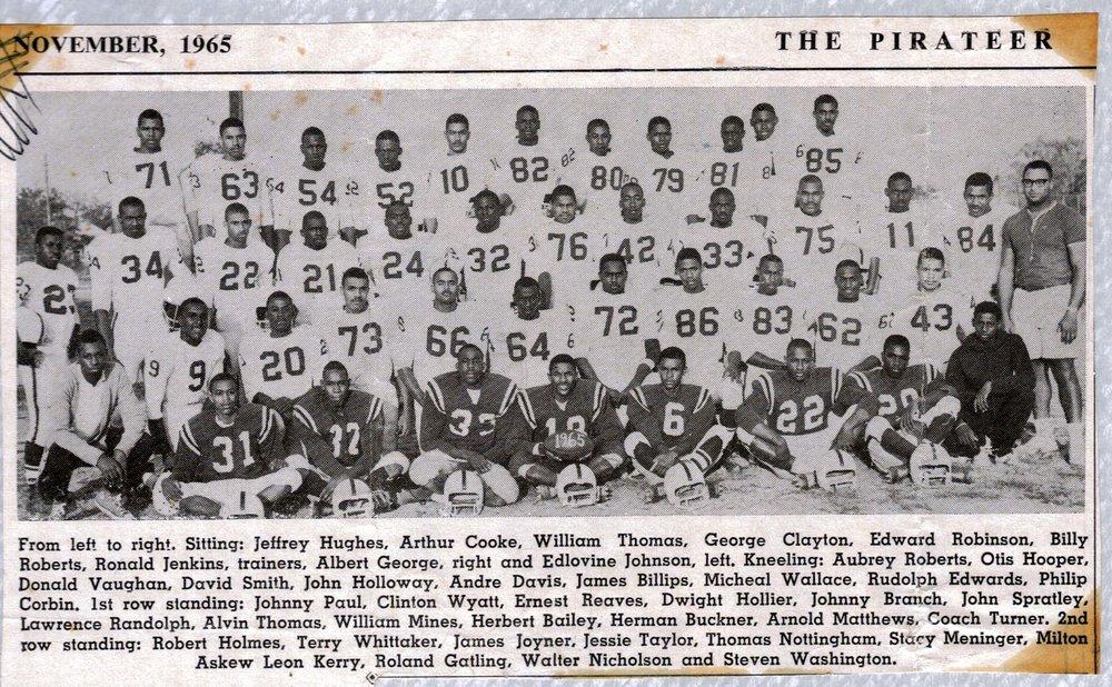 Football Team, 1965