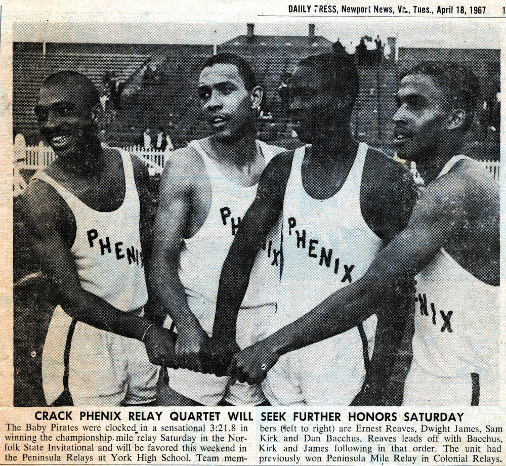Mile Relay Team, 1967