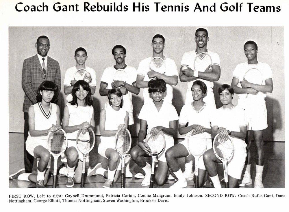 Tennis Team, 1968