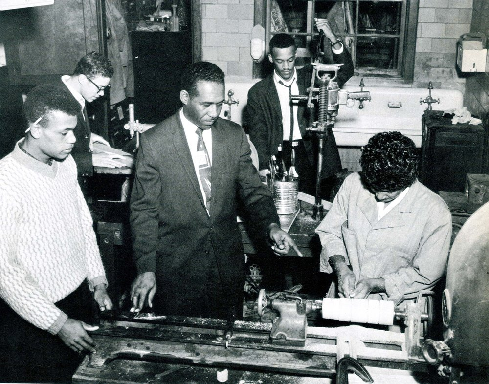 Industrial Arts Class, 1962