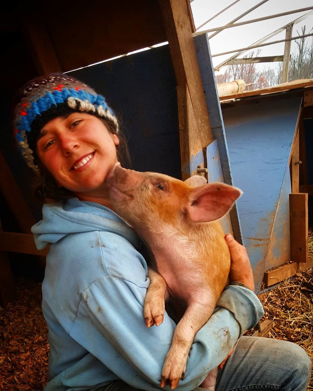 Maria is one-half of Bluebird Farms, grand prize recipients from our second event.