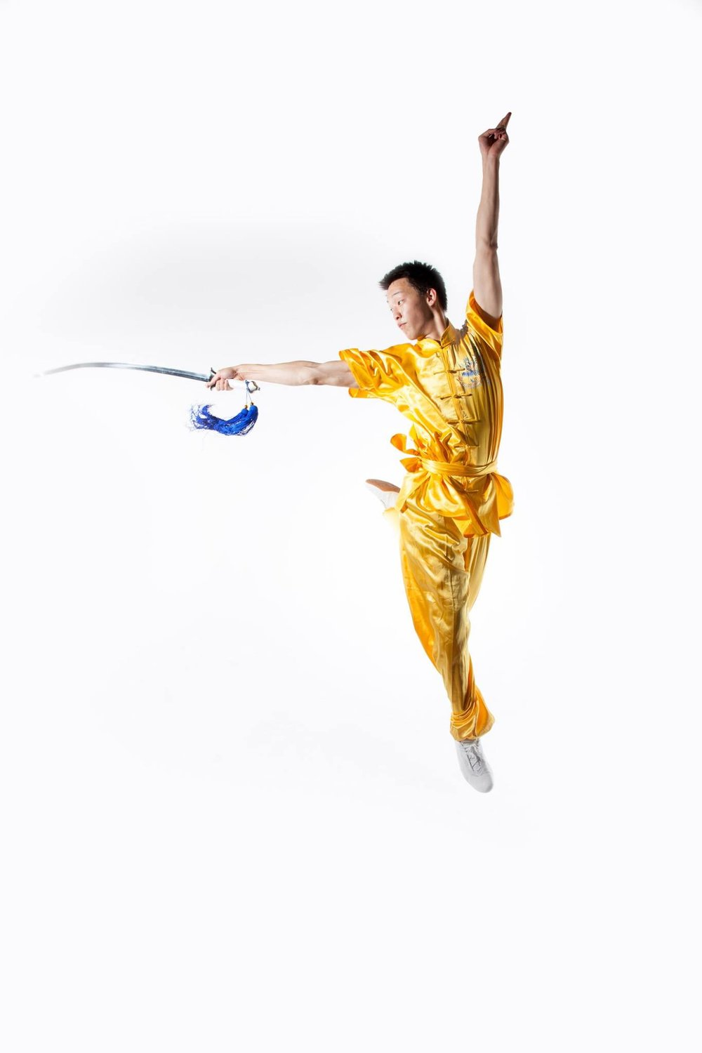 Alan has an extensive background in martial-arts, stage performance, and acrobatics that assist him in his creative work.