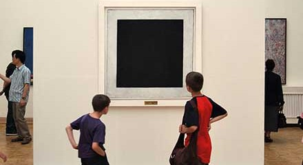 """Kaximir Malevich's """"Black Square"""", 1915"""