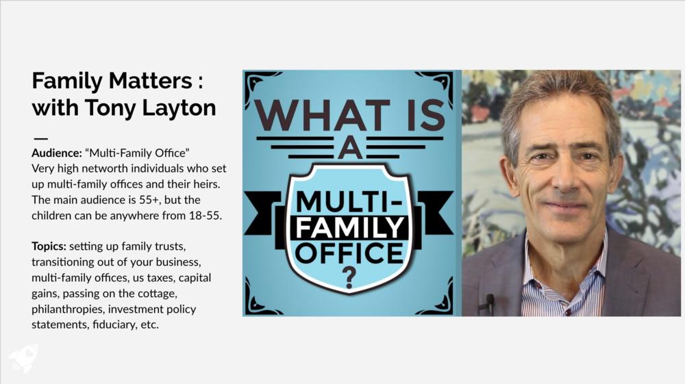 Family Matters with Tony Layton
