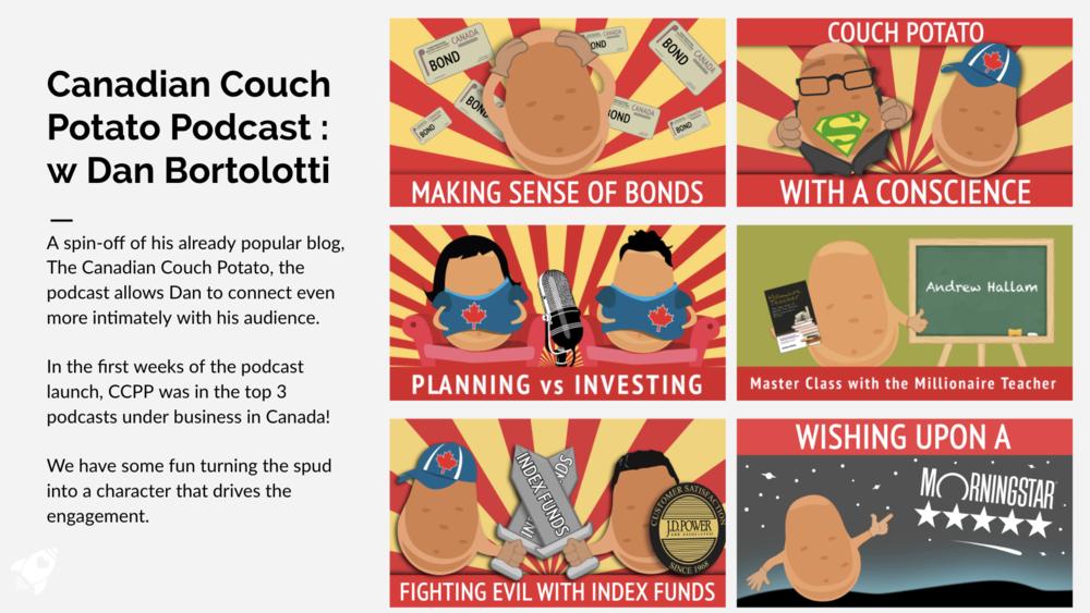 Canadian Couch Potato Podcast with Dan Bortolotti