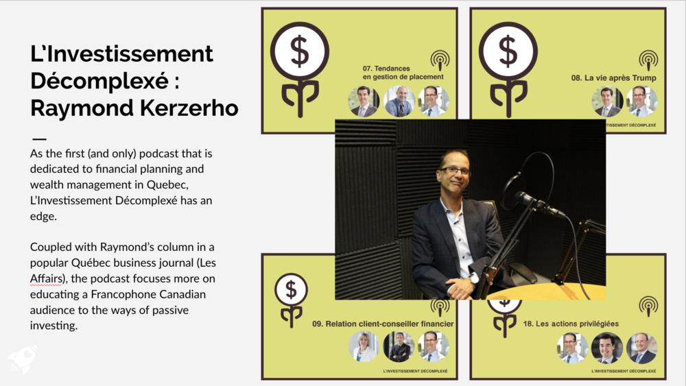L'Investissement Décomplexé with Raymond Kerzerho