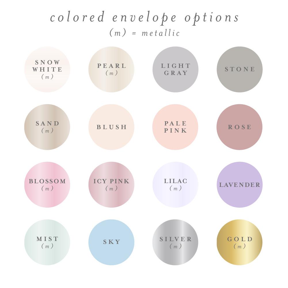 purchase colored envelopes for tri fold invitation mabe design co