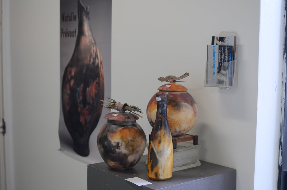 Photo by Lauren Judge of ceramics by Natalie Prevost