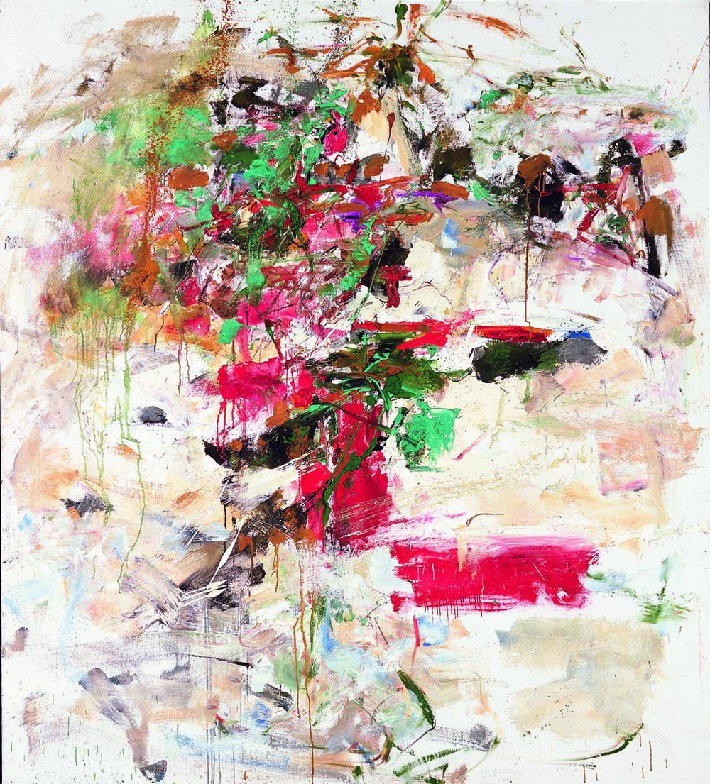 JOAN MITCHELL  (1926-1992)  Dégel  1961-62 Oil on canvas 87 1/4 x 78 3/4 inches Private Collection