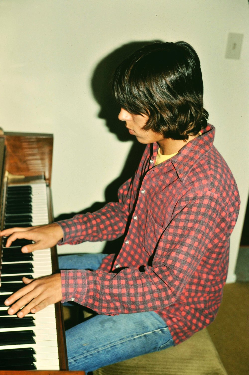 Early Piano Days for Mark Charles