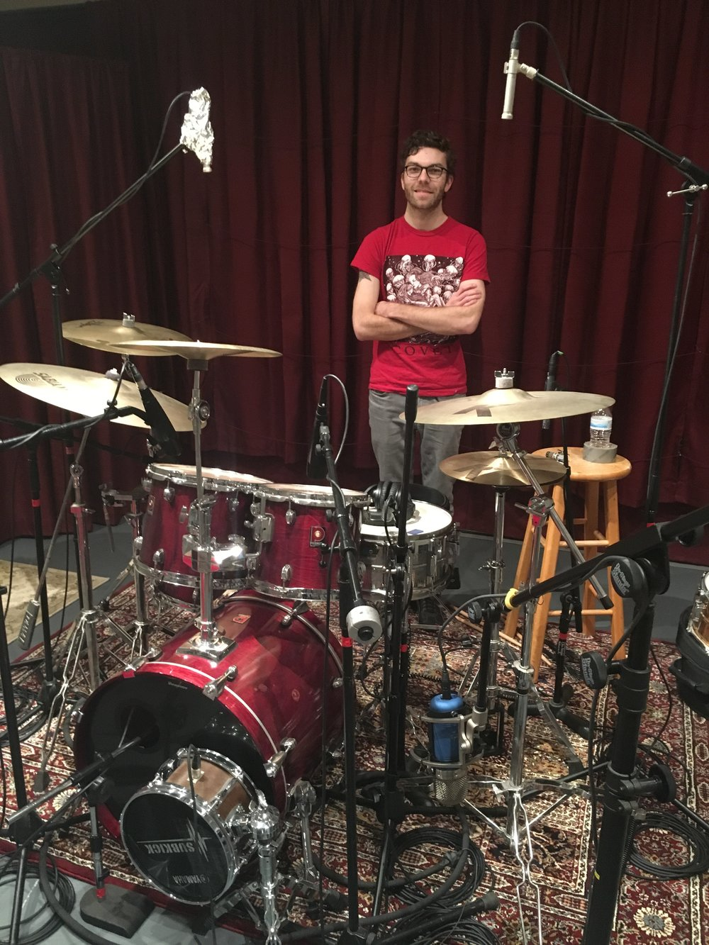 Tracking Vesper Sails' Drums at Rancho Bohemia