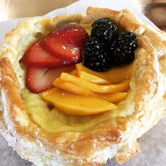 Custard Fruit Tart #abqfoodies #abqlocal #dessert #abqtrue #mogumogu
