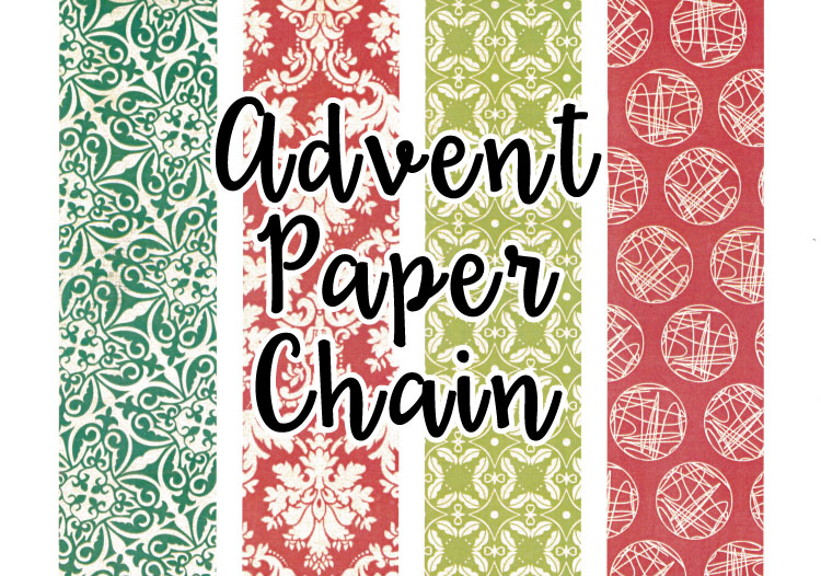 Advent Paper Chain