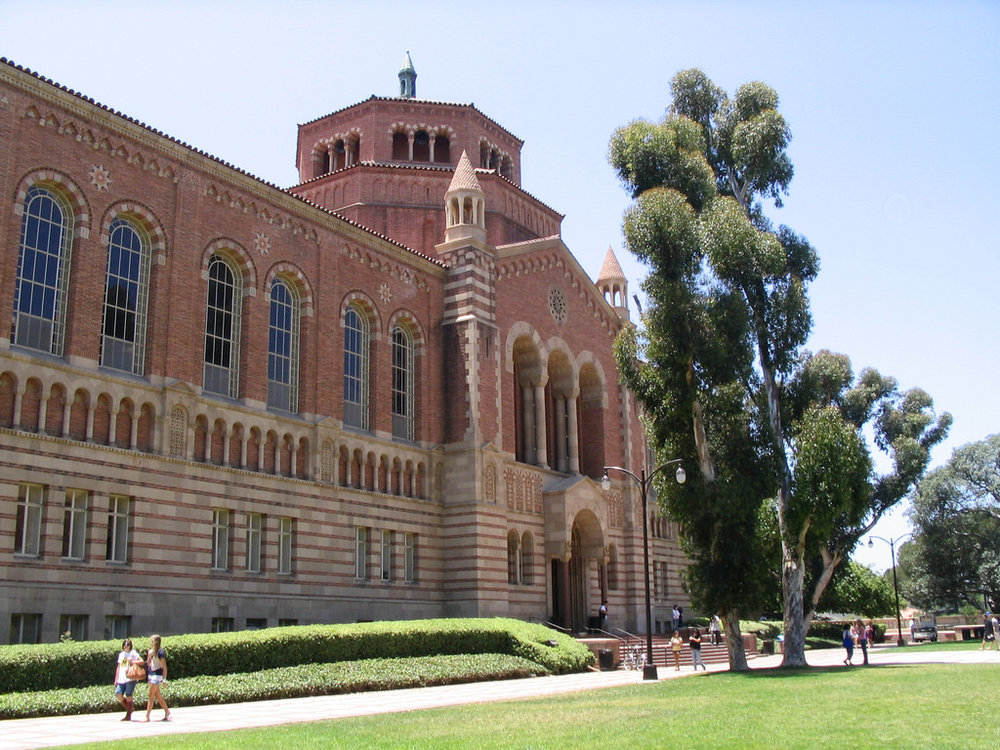 UCLA's Powell library