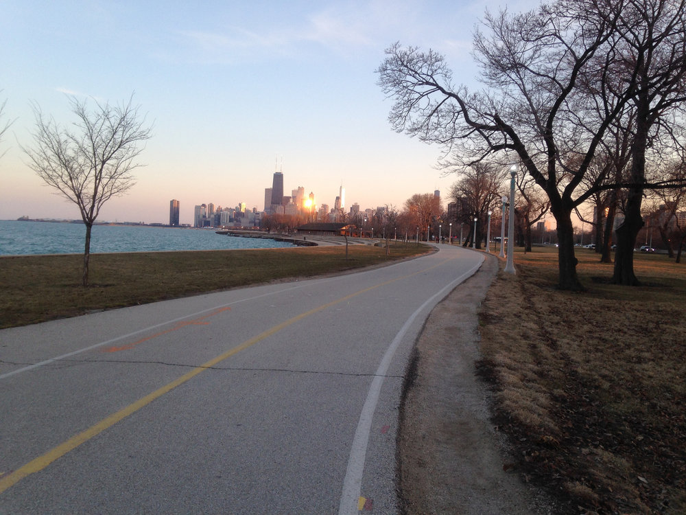 The Lakefront trail