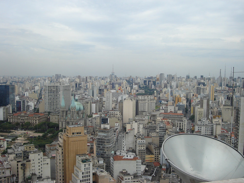 Sao Paulo, Population 12 million
