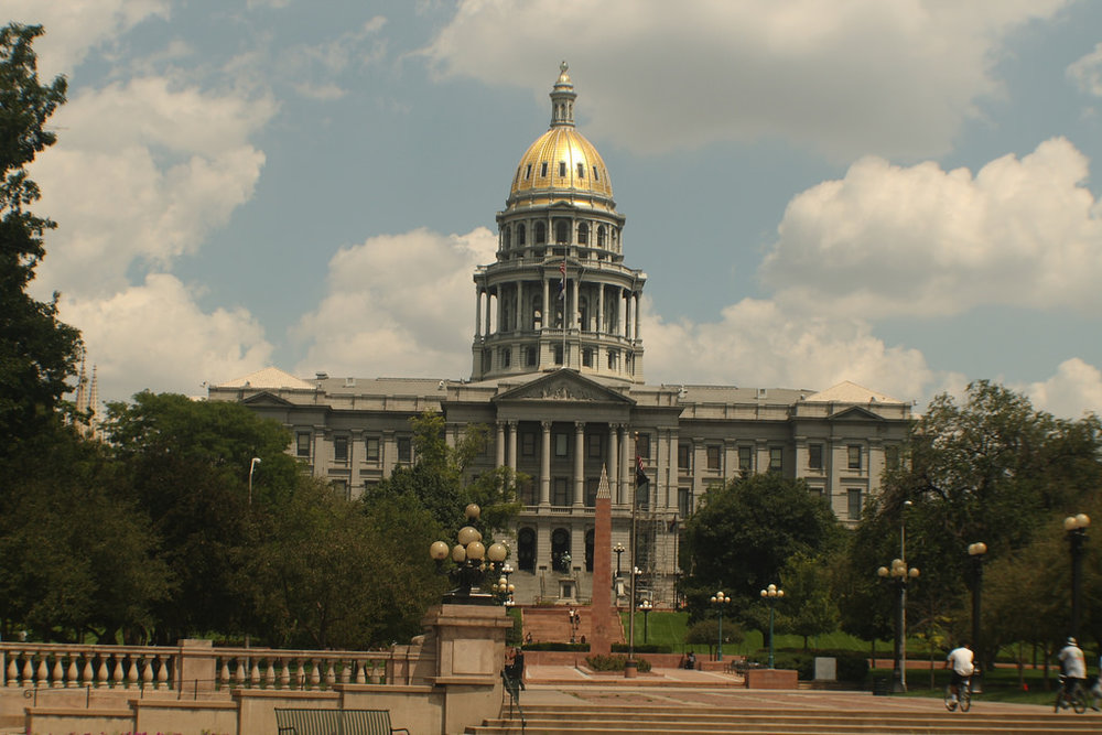 The Colorado state capital