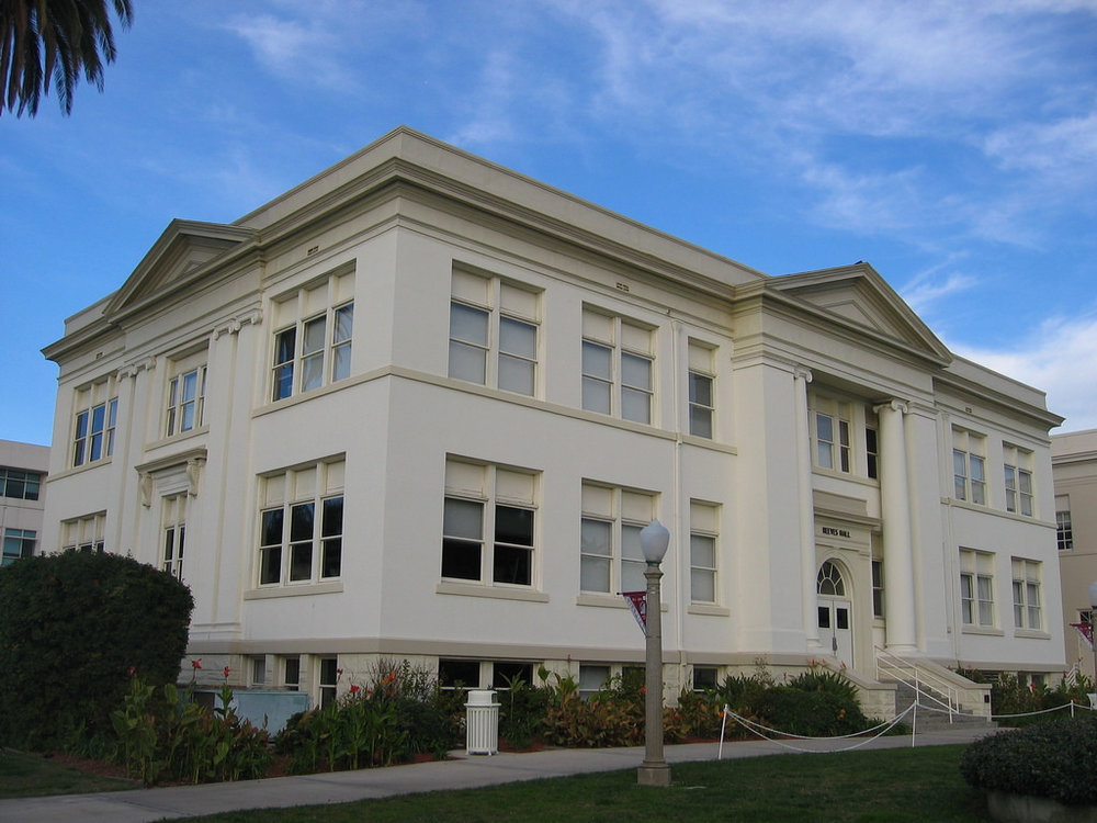 reeves hall, chapman university