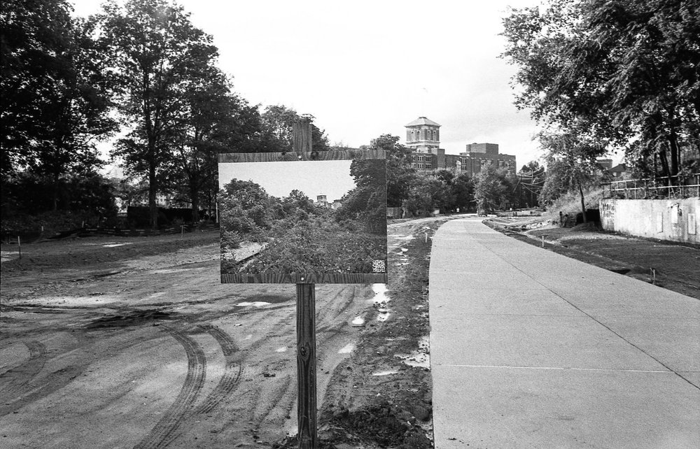the atlanta beltline under construction
