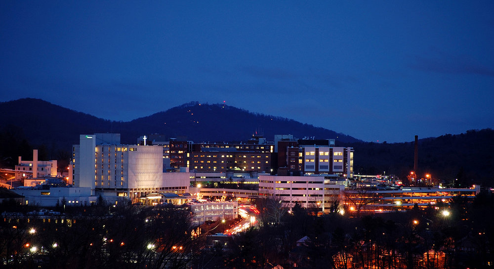 Mission hospital in Asheville, NC