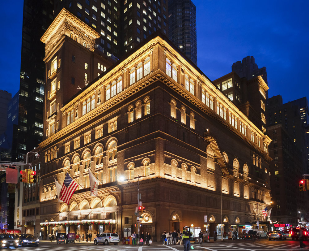 Carnegie Hall. Photo: DW labs Incorporated/Shutterstock