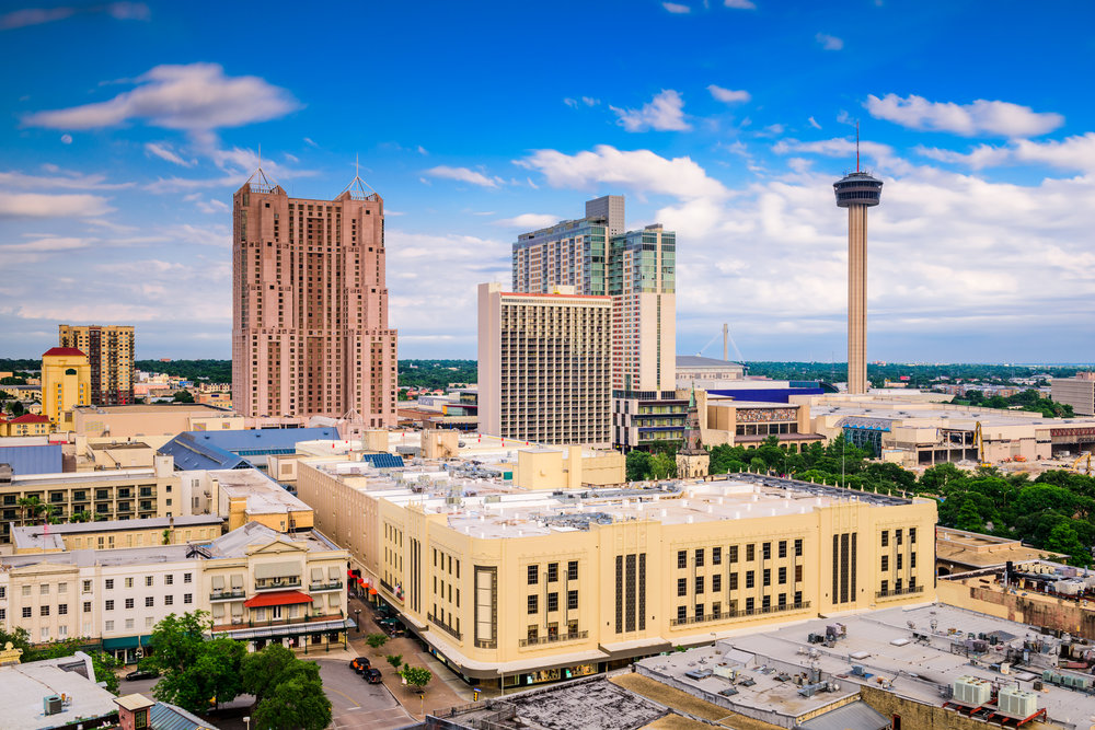 Downtown san antonio. photo:  Sean Pavone/shutterstock