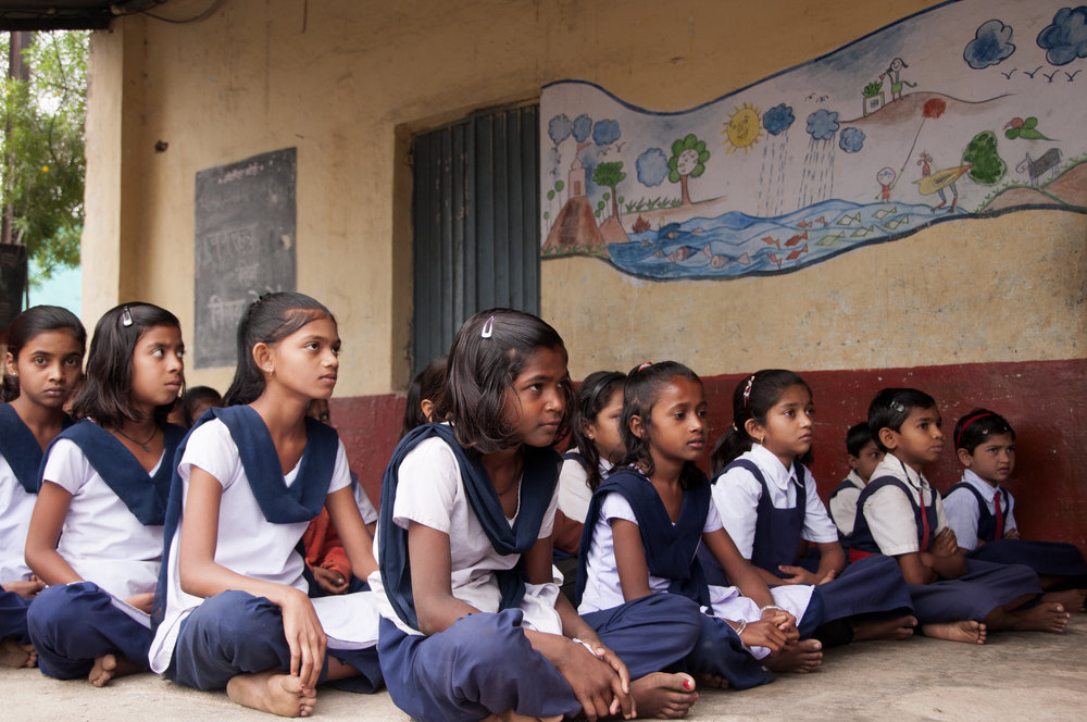 Girls education is one focus of UPS grantmaking. Photo:  CRS PHOTO/shutterstock