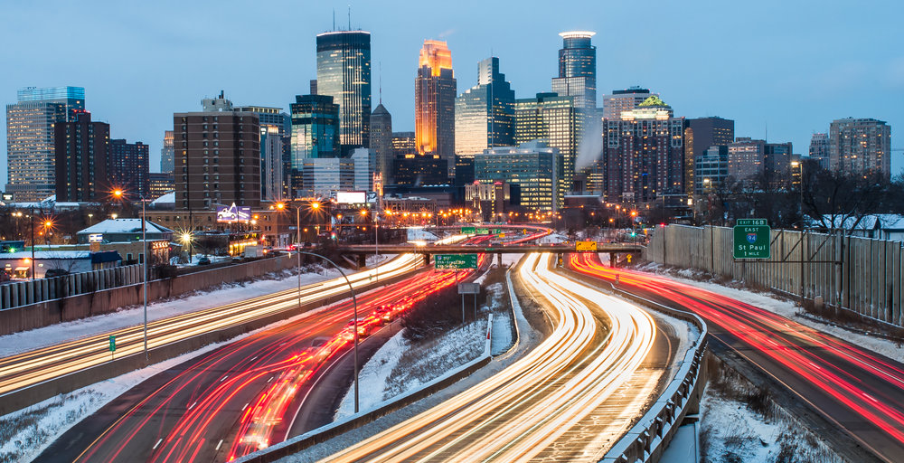 Minneapolis. Photo:  Nick Lundgren/shutterstock