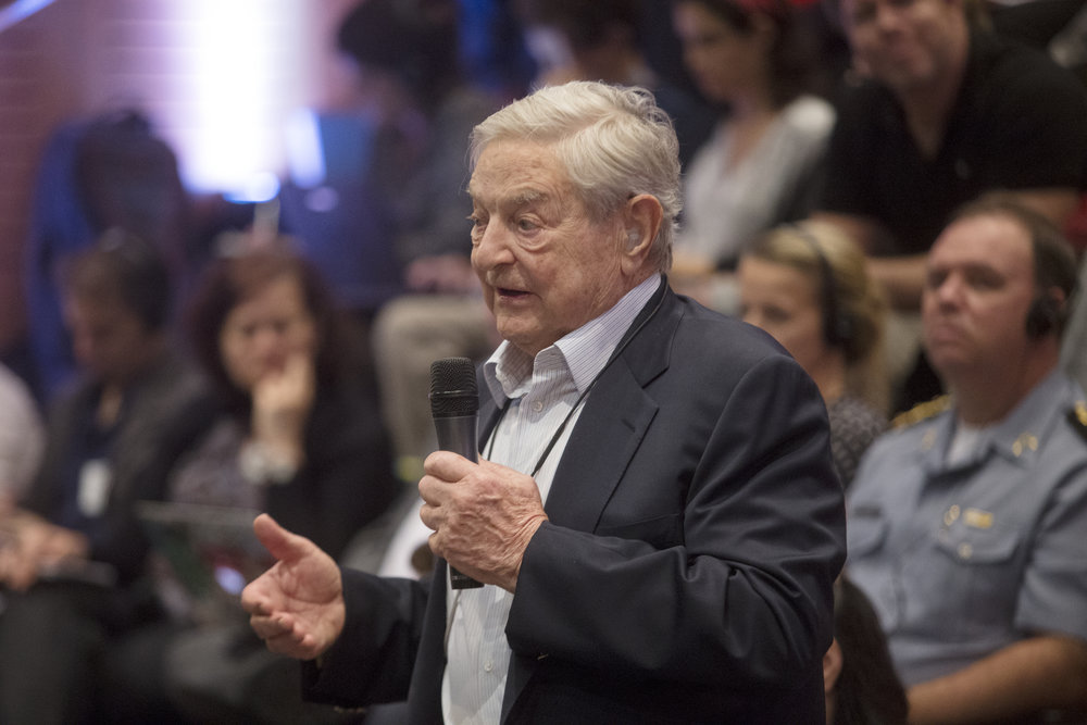 George Soros. photo: Antonio Scorza/shutterstock