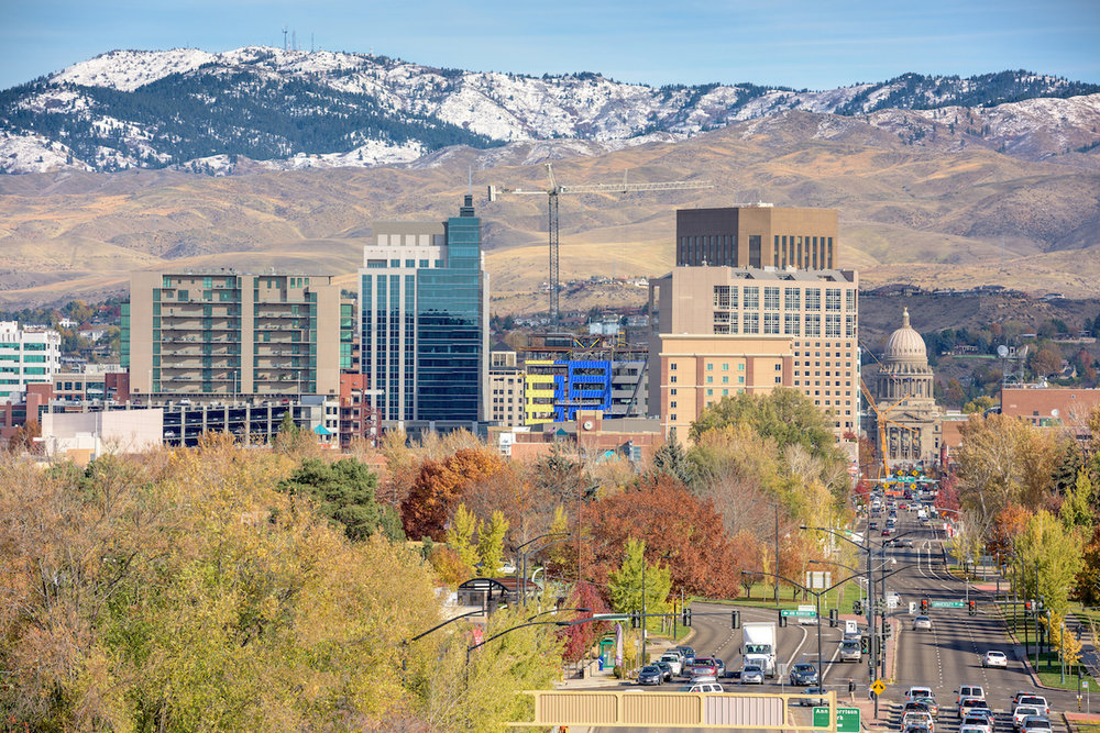 boise, ID. photo:  Charles Knowles/shutterstock