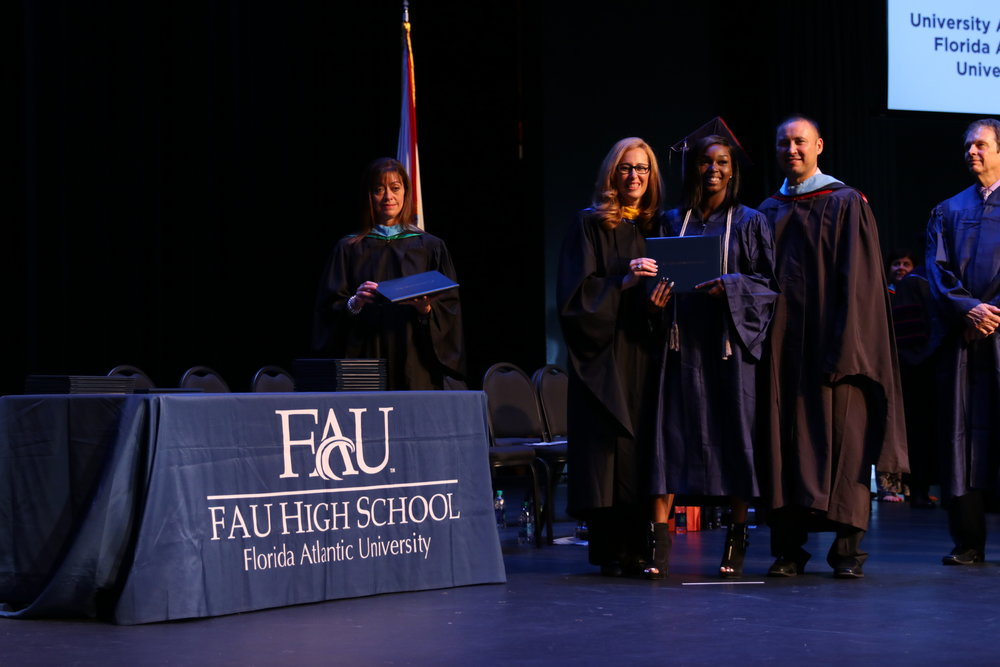 Photo Courtesy of FAU HIgh school