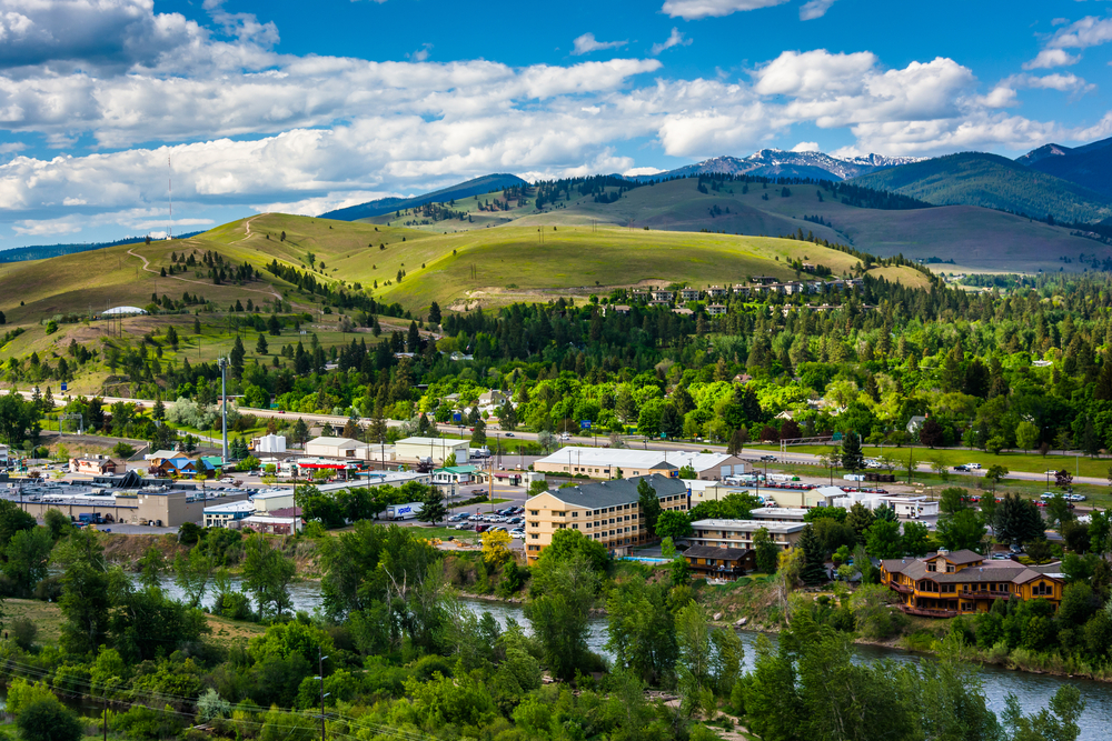 Missoula, Montana. Photo:  Jon Bilous/shutterstock