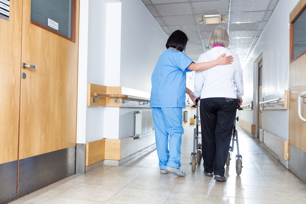 Recent Hannon support has gone to a nursing facility in Culver City. photo:  GagliardiImages/shutterstock