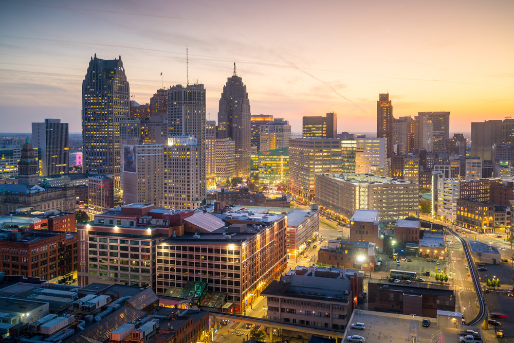 Downtown Detroit. photo:  f11photo/shutterstock