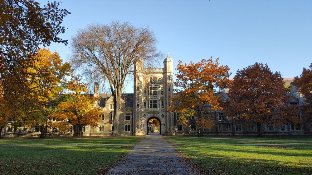 University of michigan. photo:  Dieon Roger/shutterstock