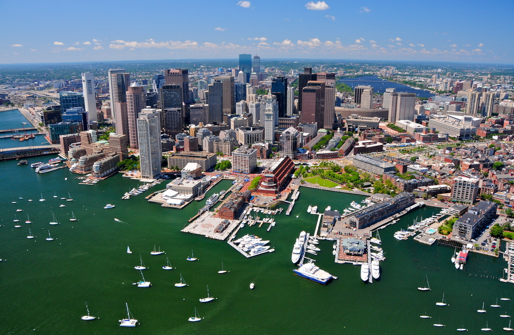 Boston waterfront. photo:  Richard Cavalleri/shutterstock